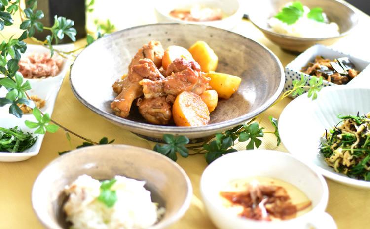 簡単だから何度でも 鯛めしとおぼろ豆腐、手羽元照り煮の春ご飯