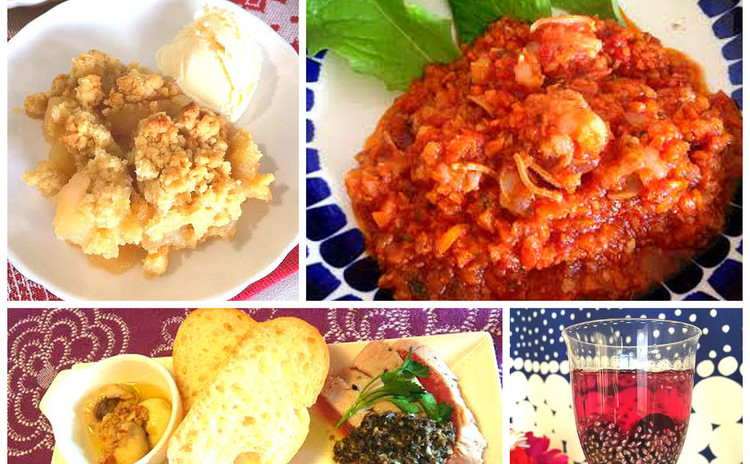 マンマ直伝!イタリアン煮込みとサクサクスイーツの<おもてなし料理>