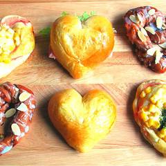同時にできる!トリプル LOVEパンと簡単義理チョコ