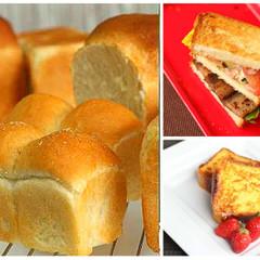初心者さんも歓迎♡上級者プルマンorミニ山食とアレンジパン2種に挑戦!