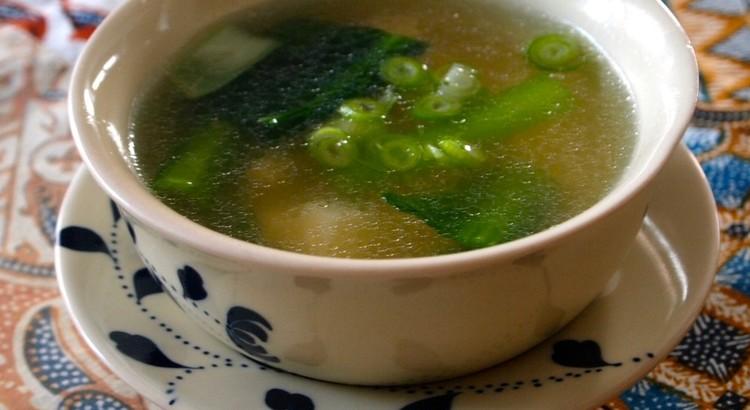 ダウフー(豆腐)スープ
