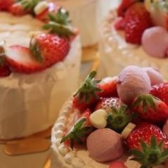 【女性】キャラチョコプレートレッスン付き♪お誕生日ケーキ