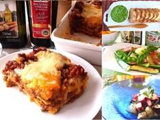 料理レッスン写真 - 初夏のパーティーに!みんな大好きラザニアと華やか前菜3品でおもてなし