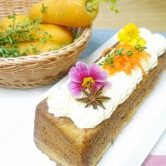 (日程追加)美肌でヘルシー!ふんわり優しいキャロットケーキ