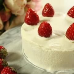 ふわふわスポンジケーキをマスターしよう!憧れの苺のショートケーキ