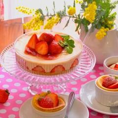 日程追加!いちごのレアチーズケーキと伝統レシピのバニラスフレ♪