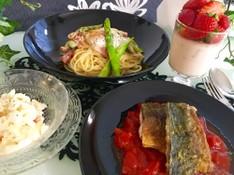 料理レッスン写真 - 【カジュアルイタリアン】~魚の三枚おろしも学べるレッスン~