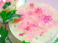 料理レッスン写真 - ふわふわ〜♪なめらか〜♪『桜のムース♪』