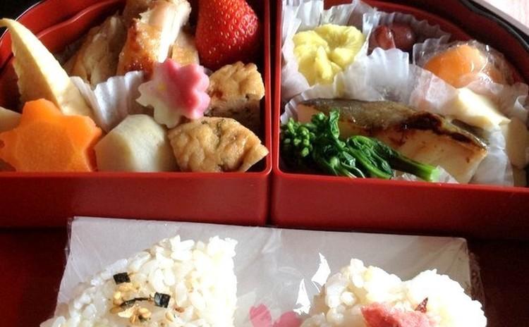 新・春よ恋♪お花見弁当&新生活のお弁当!ワクワク手早くおかず一杯に♫