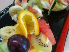 料理レッスン写真 - ちょっとおしゃれなフルーツサンド&季節の野菜スープ