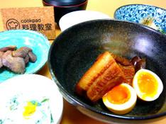 料理レッスン写真 - 豚の角煮 酢の物 白和え 鶏肝味噌漬け