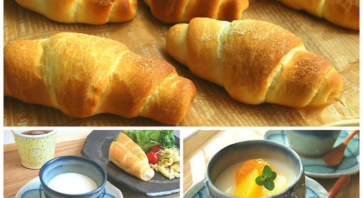 ランチ付★人気沸騰!【塩パン】とぷるんと美味しい『杏仁豆腐』作ろう♪