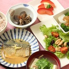 やせレシピの献立①お魚編♪さばの味噌煮10品目摂取できる野菜プレート