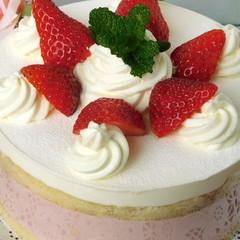 いちごムース~ショートケーキ仕立て~