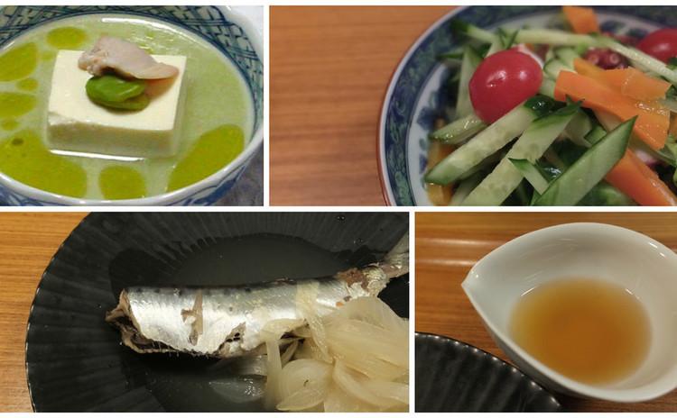 江戸の味「自家製煎り酒」で鰯を煮る&空まめをスープ仕立てに!