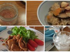料理レッスン写真 - 自家製ジンジャージャムが料理と飲み物に変身&旬のタコがおこわに!