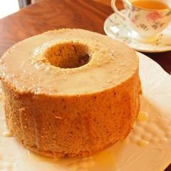 香り高く贅沢♡紅茶のシフォンケーキ&ミルクコンフィチュールジャム