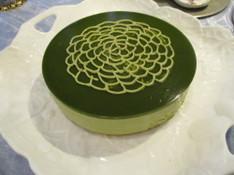 料理レッスン写真 - 糖質制限で抹茶のアントルメ作り!抹茶好きのためのケーキです!