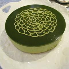 糖質制限で抹茶のアントルメ作り!抹茶好きのためのケーキです!