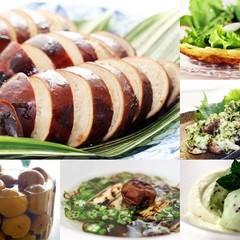 いか飯・梅干作りなど全10種レシピ✿お土産付