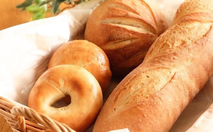 小麦酵母でつくる♪60分ベーグル&もっちりバゲット&丸形カンパーニュ