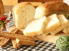料理レッスン写真 - ホシノ天然酵母で作る!高加水食パン&酵母のおやつ・くるみのビスコッティ