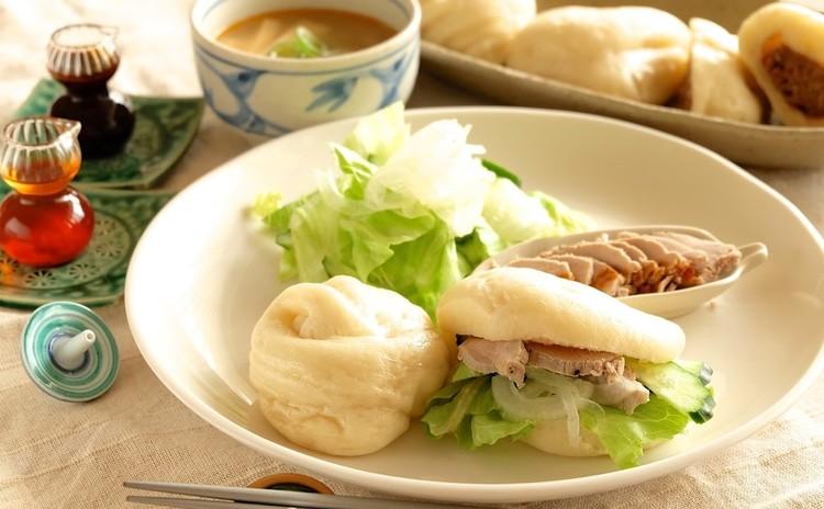 中華パンとパンにあうソースやお料理をレッスンしましょう