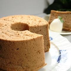ふんわりしっとりスパイスティーシフォンケーキを伝授(17cm丸1台)