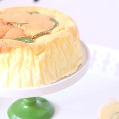 抹茶の香る~ふんわりしっとりスフレチーズケーキ