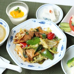 中華の献立を学ぼう⑤基本の回鍋肉皮からえびワンタン棒棒鶏マンゴープリン