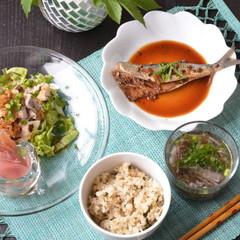 ★リクエスト特別開催★イワシの山椒煮を初サンマに代えて!