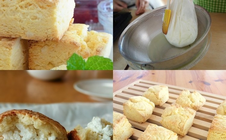 スコーンの奥深さを楽しむレッスン  手造りあっさりチーズも合わせて