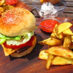 ごちそうハンバーガー!夏の手作りバーガーコンボ