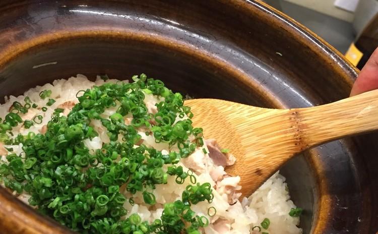 新生姜とかしわの炊き込み御飯