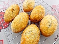 料理レッスン写真 - 満足ランチ付☆暑さを吹き飛ばせ!焼きカレーパン&チーズナン♪