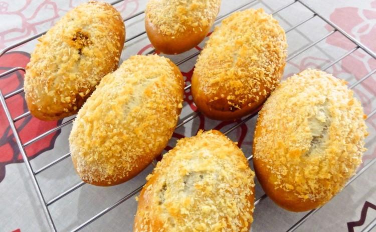 満足ランチ付☆暑さを吹き飛ばせ!焼きカレーパン&チーズナン♪