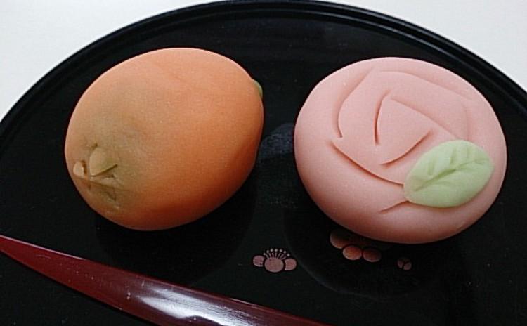 【和菓子】~練り切り~初夏の果物「枇杷」と「薔薇」を作ろう!