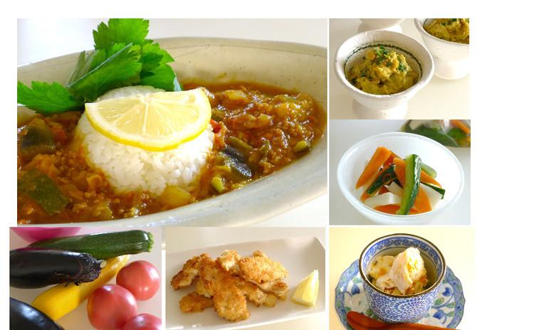 リターンレッスン!夏に食べたい!お野菜たっぷり「ラタトゥイユ・カレー」