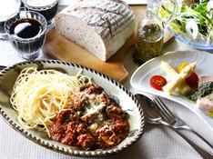 料理レッスン写真 - ベーシック&ストックレシピ ザ・イタリアン!ミートソースとジェノベーゼ