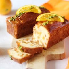 爽やか夏ケーキ!混ぜるだけのオレンジケイク&バスケット型オレンジゼリー