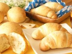料理レッスン写真 - ホシノ天然酵母で作る!クミンシードのロールパン&ハーブミックスの丸パン