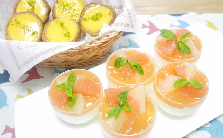 *日程追加*ハチミツヨーグルトムース&簡単レモンパイ