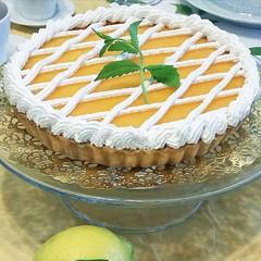 Tarte au citron レモンクリームのタルト