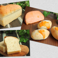 デリ付!ホシノ酵母と国産小麦でしっとりフワフワ~なお食事パン2種