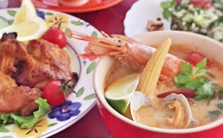 【日程追加!】夏のおもてなしエスニック祭り!~スパイス使いを学ぼう!