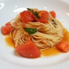 初夏の冷製メニュー♪フルーツトマトのカッペリーニと基本のヴィシソワーズ
