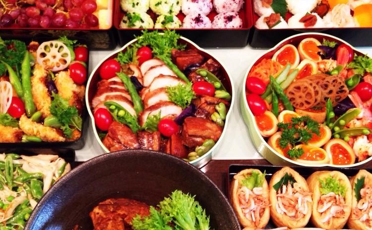 彩りランチボックス  便利なおかず 豚の角煮 ロールチキン他 全8種