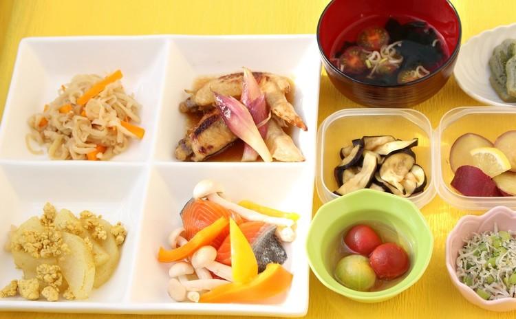 和食で作り置きおかずの献立♪メニューは10品普段のおかずやお弁当にも!