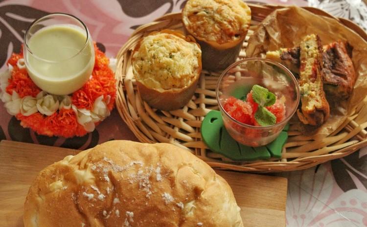 手土産にも♪夏野菜をたくさん使ったパンに合う☆お洒落なランチメニュー