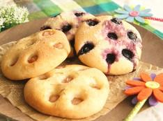 料理レッスン写真 - 《夏休み親子レッスン》ホシノ天然酵母で作る!2種類のフォカッチャ